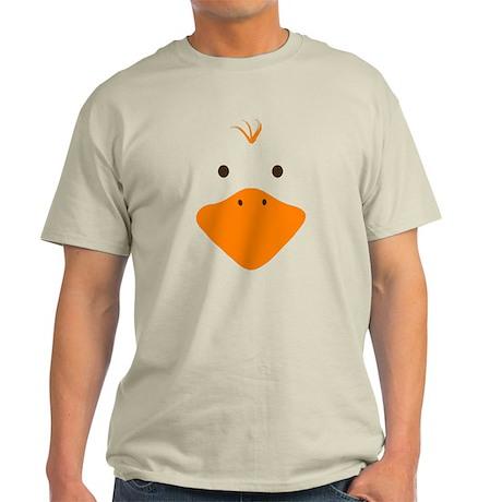 Cute Little Ducky's Face Light T-Shirt