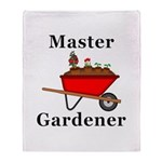 Master Gardener Throw Blanket