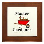 Master Gardener Framed Tile