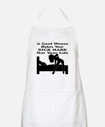 Dick Hard Not Your Life Apron