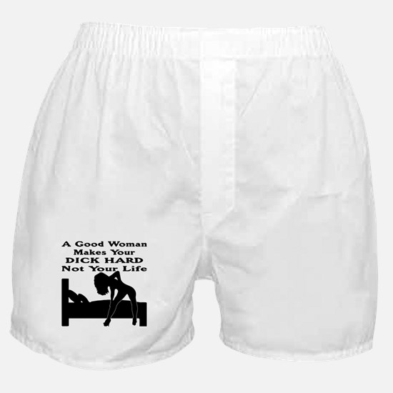 Dick Hard Not Your Life Boxer Shorts