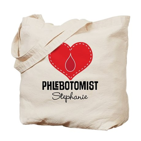 CafePress Phlebotomist Personalized Gift Tote Bag