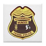 Stockbridge Munsee PD Tile Coaster