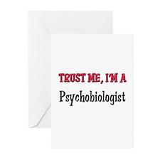Trust Me I'm a Psychobiologist Greeting Cards (Pk