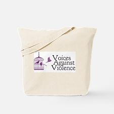 Voices Against Violence Logo Tote Bag