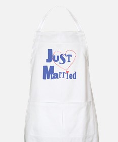 Just Married BBQ Apron