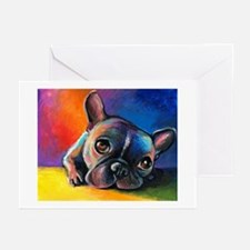 French Bulldog 5 Greeting Cards