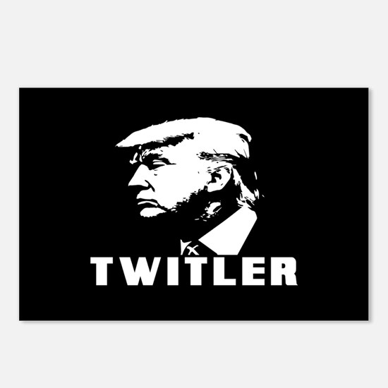 Trump Twitler Postcards (Package of 8)