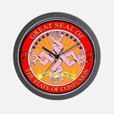 State of Confusion Wall Clock