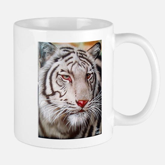 Tiger-white Mugs