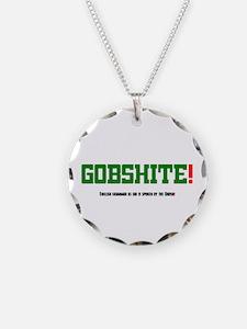 GOBSHITE - ENGlISH GRAMMAR A Necklace