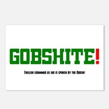 GOBSHITE - ENGlISH GRAMMA Postcards (Package of 8)