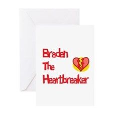 Braden the Heartbreaker Greeting Card