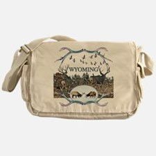 Wyoming wildlife Messenger Bag