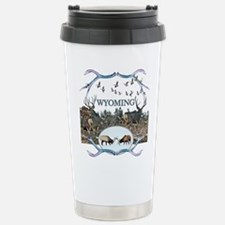 Wyoming wildlife Stainless Steel Travel Mug