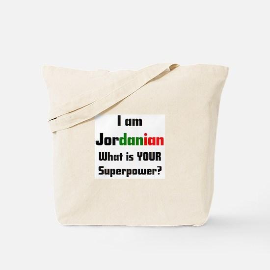 i am jordanian Tote Bag