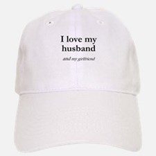 Husband/my girlfriend Baseball Baseball Cap