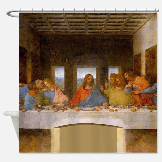 The Last Supper Leonardo Da Vinci Shower Curtain