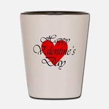 Cool Valentines day fiance Shot Glass