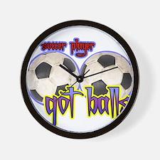Cool Got balls tennis Wall Clock