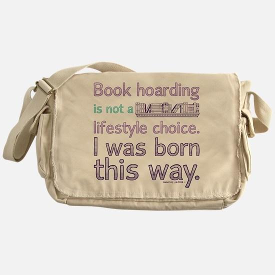 Funny Book Hoarding Lifestyle Messenger Bag