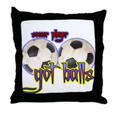 Got balls tennis Throw Pillow