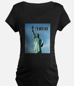 Women's Marches–I'm With He T-Shirt