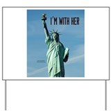 Statue of liberty Yard Signs