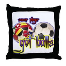 Cool Got balls tennis Throw Pillow