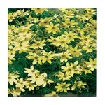 Coreopsis Moonbeam Tile Coaster