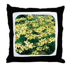 Coreopsis Moonbeam Throw Pillow