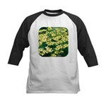 Coreopsis Moonbeam Kids Baseball Jersey