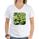 Coreopsis Moonbeam Women's V-Neck T-Shirt