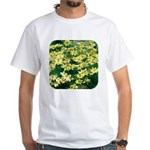 Coreopsis Moonbeam White T-Shirt