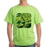 Coreopsis Moonbeam Green T-Shirt