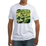 Coreopsis Moonbeam Fitted T-Shirt