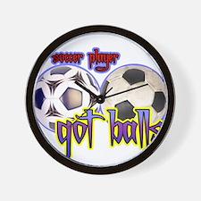 Got balls tennis Wall Clock