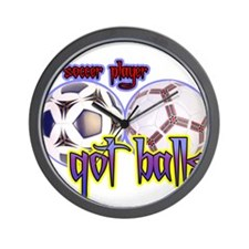 Got balls tennis Wall Clock