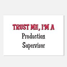 Trust Me I'm a Production Supervisor Postcards (Pa
