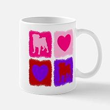 Pugs N Hearts Mug