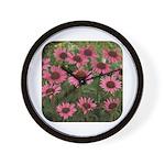 Echinacea Magnus Wall Clock