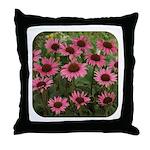 Echinacea Magnus Throw Pillow