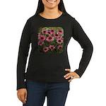 Echinacea Magnus Women's Long Sleeve Dark T-Shirt