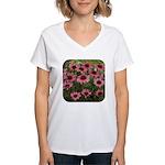 Echinacea Magnus Women's V-Neck T-Shirt