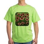 Echinacea Magnus Green T-Shirt