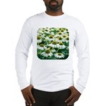 Echinacea White Coneflower Long Sleeve T-Shirt