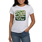 Echinacea White Coneflower Women's T-Shirt