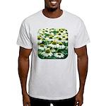 Echinacea White Coneflower Light T-Shirt