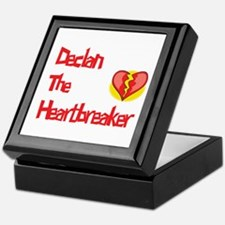 Declan the Heartbreaker  Keepsake Box