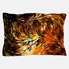 Fox Tails Abstract Pillow Case